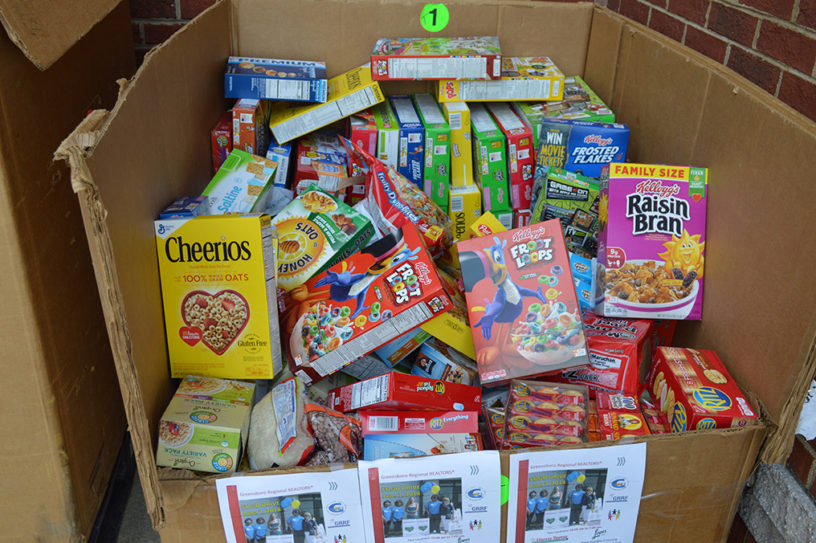 items donated 2018 RCSC Food Drive