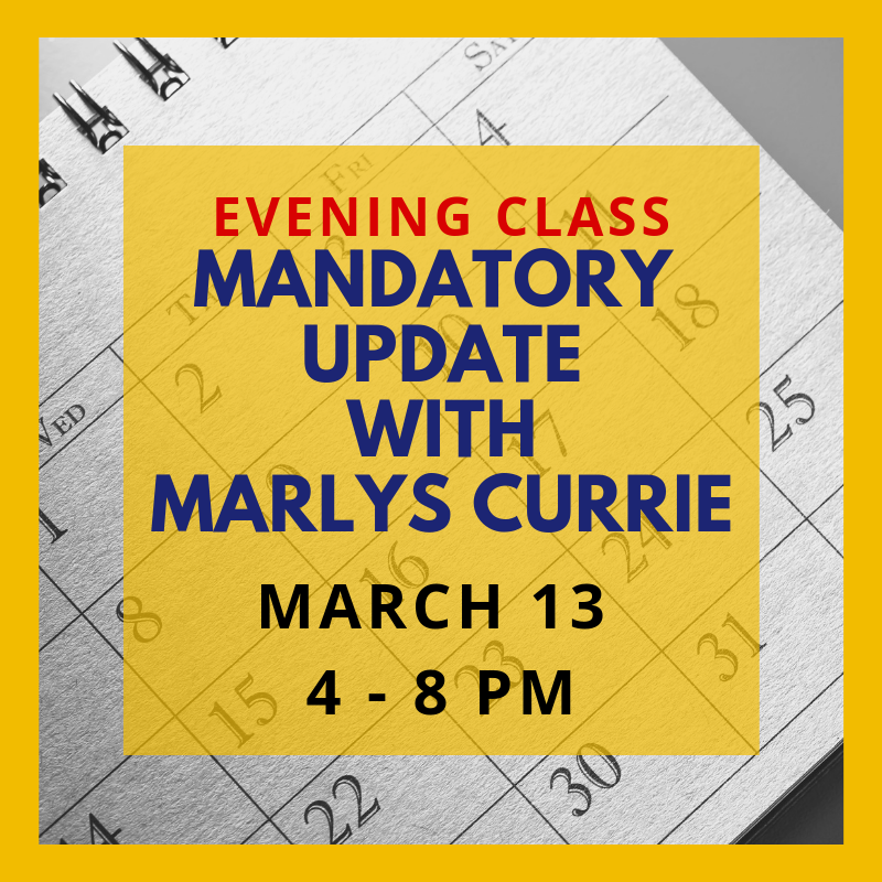 marlys march evening update